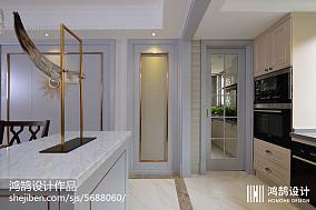 精选92平米三居厨房现代装修实景图片