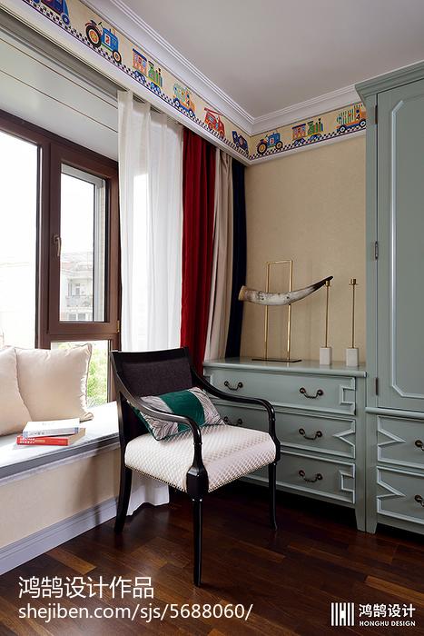 精选大小101平现代三居儿童房效果图片卧室现代简约卧室设计图片赏析