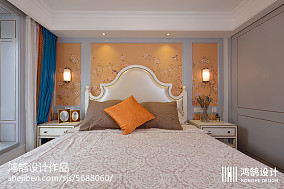 精美面积93平现代三居卧室装饰图片