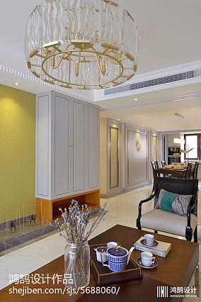 精美面积109平现代三居客厅效果图片