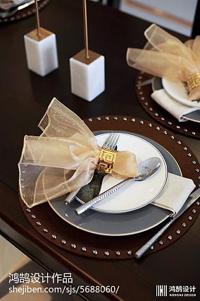 热门面积100平现代三居餐厅效果图片欣赏