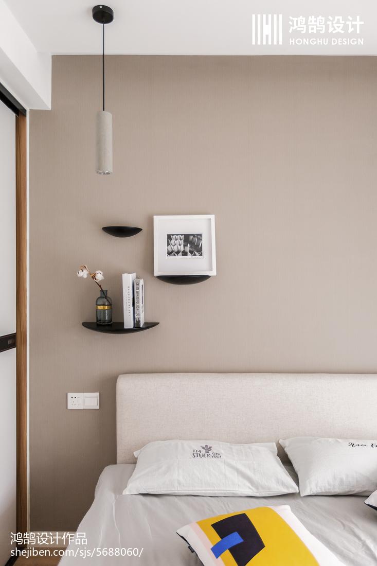 88㎡北欧卧室吊灯设计图片