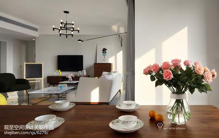 精选北欧四居客厅装修设计效果图