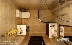沉稳大气简中式家居卧室设计