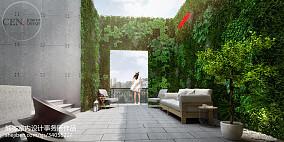 2018别墅花园现代装修图片欣赏