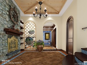 欧式装修风格客厅天花吊顶效果图