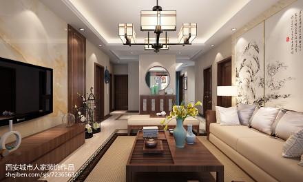 中式客厅天花客厅