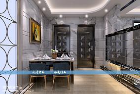 现代雅致二居室装修图片