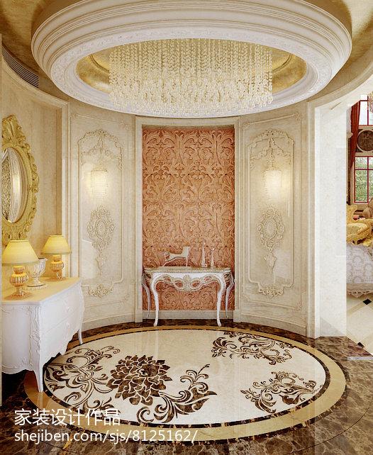 热门别墅玄关新古典装修欣赏图卧室美式经典卧室设计图片赏析