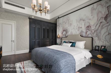 平中式四居卧室图片大全卧室