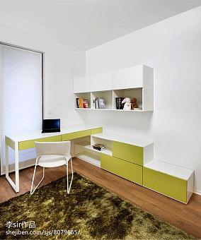 质朴77平现代三居儿童房装饰图