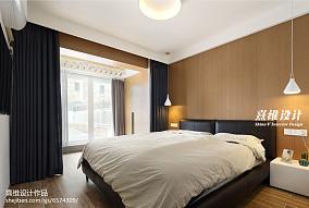 2018面积76平简约二居卧室装修图