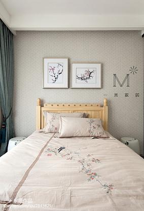 2018三居儿童房中式实景图片大全三居中式现代家装装修案例效果图