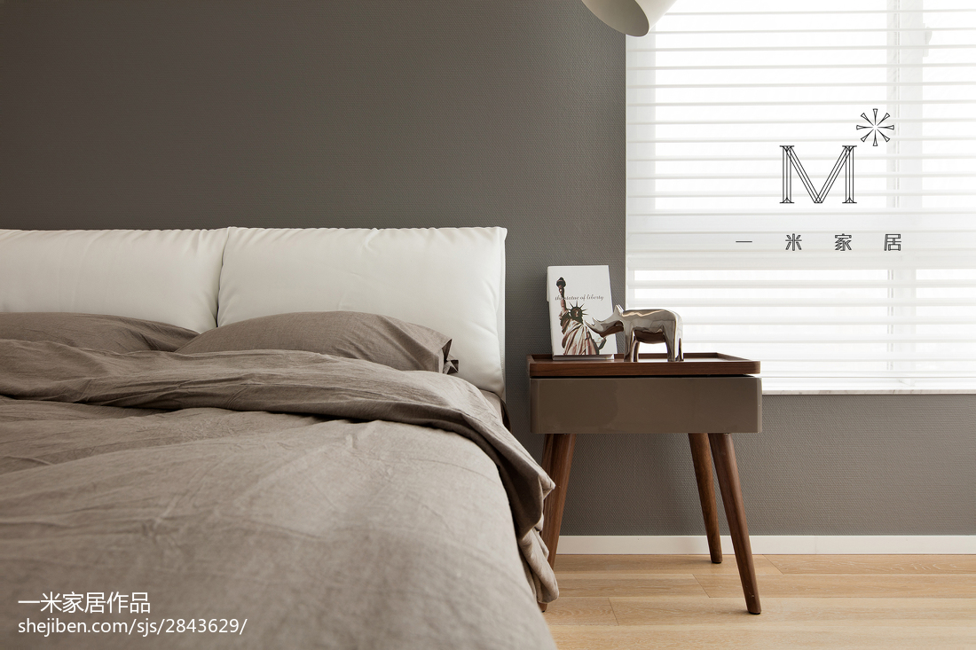 精美面积94平简约三居儿童房效果图片卧室现代简约卧室设计图片赏析
