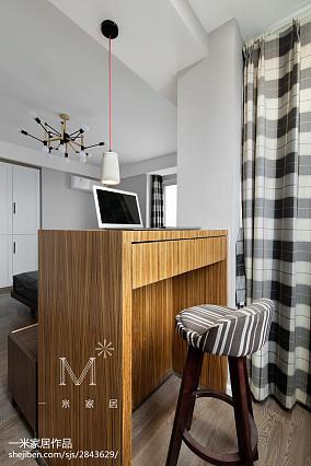 温馨74平北欧三居卧室效果图片大全三居北欧极简家装装修案例效果图