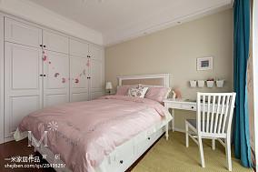精选美式三居儿童房欣赏图片151-200m²三居美式经典家装装修案例效果图