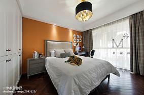 热门97平米三居儿童房美式装修效果图片三居美式经典家装装修案例效果图
