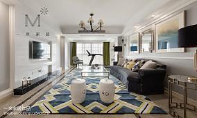 华丽138平美式三居实景图三居美式经典家装装修案例效果图