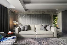 暗色系现代客厅沙发设计图客厅2图现代简约客厅设计图片赏析