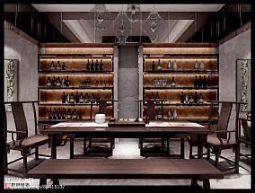 现代中式风格室内装修效果图大全