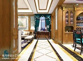 精美新古典别墅过道装饰图