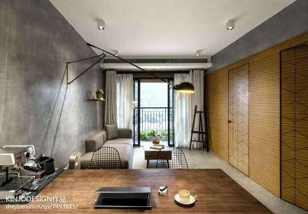 2018精选86平米二居客厅现代装修效果图片大全