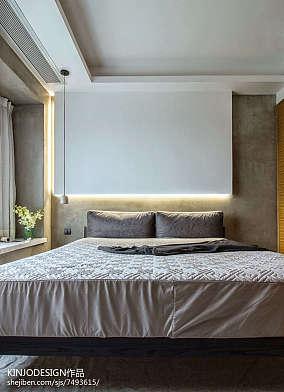 精美大小87平现代二居卧室装饰图