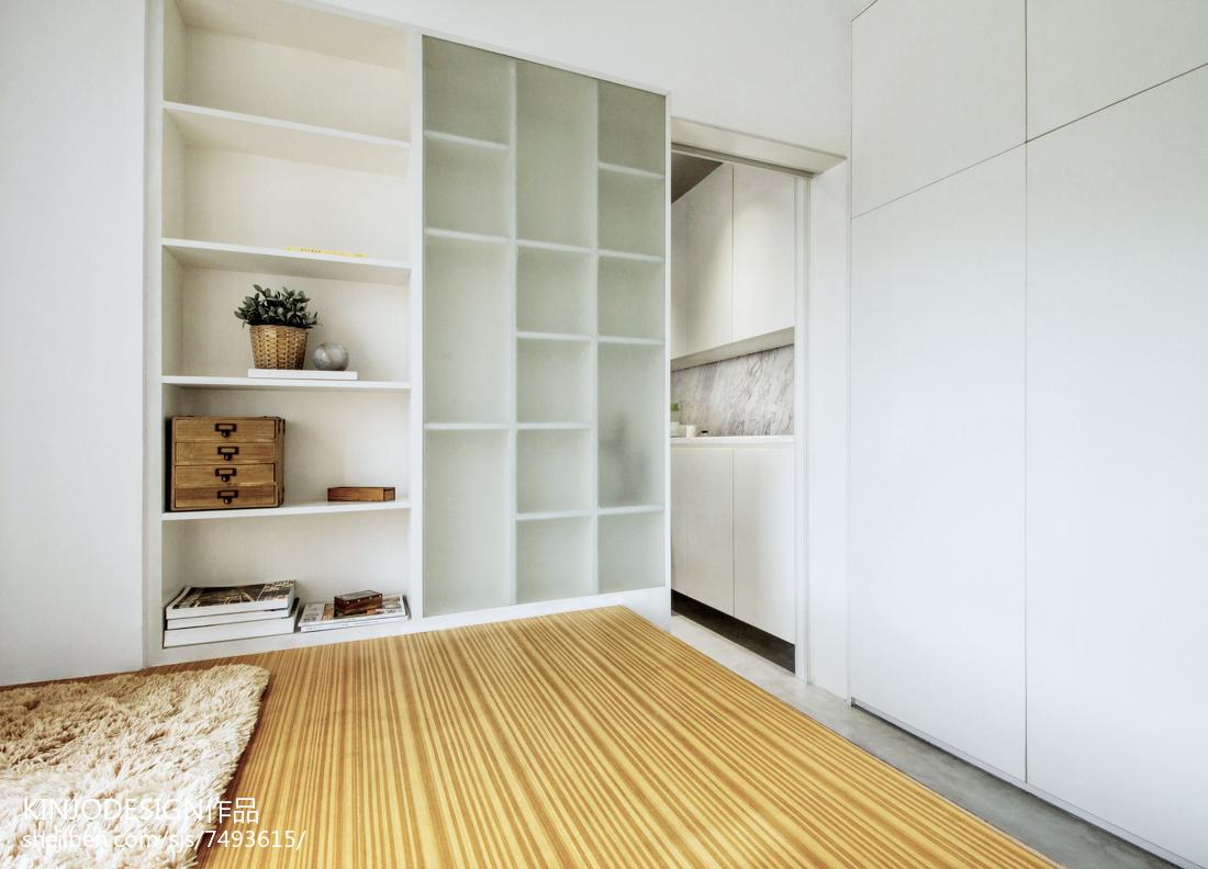 个性现代卧室衣柜设计图片功能区1图现代简约功能区设计图片赏析