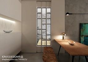 热门81平米二居餐厅现代装修设计效果图片大全