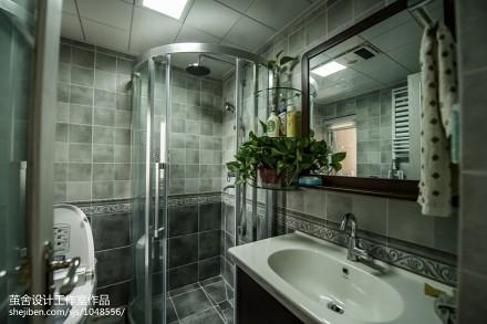 面积96平北欧三居卫生间装修设计效果图卫生间