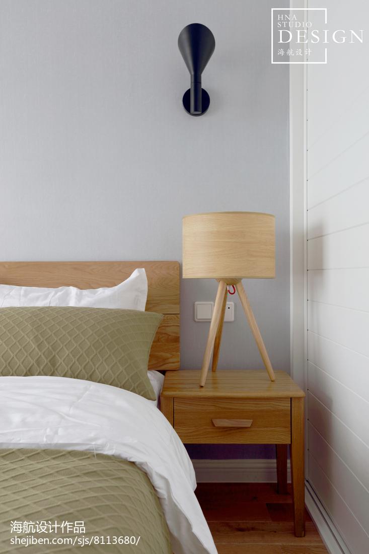 精美小户型卧室北欧装修效果图片卧室北欧极简卧室设计图片赏析