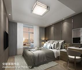 热门二居卧室现代装修图