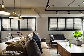 2018面积78平二居客厅装修效果图
