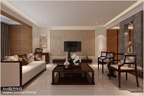 简约设计真皮沙发客厅图片