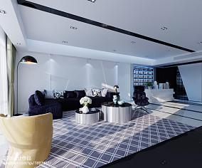 精美130平米四居客厅简欧欣赏图片大全