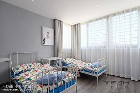 2018精选面积121平复式儿童房现代装修设计效果图
