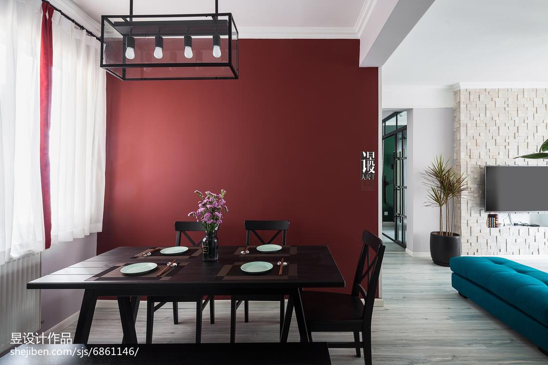 创意混搭风格餐厅设计图客厅潮流混搭客厅设计图片赏析