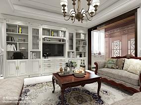 精选面积129平别墅客厅简欧效果图片
