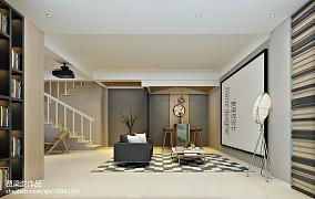 时尚日式小复式楼室内装修