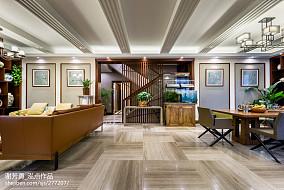新中式别墅玄关设计图