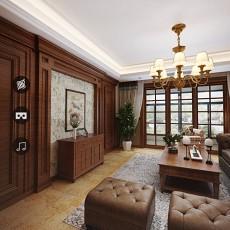 现代时尚设计四居室效果图片