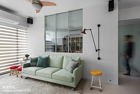 北欧简约风格60平米家居装修效果图