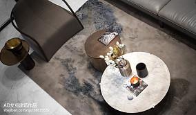 精选面积130平复式客厅中式实景图片大全复式中式现代家装装修案例效果图