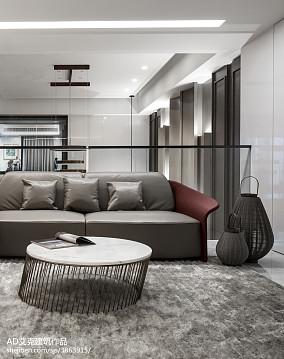 平米中式复式客厅装饰图片欣赏复式中式现代家装装修案例效果图