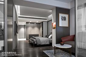 2018精选131平米中式复式卧室装修欣赏图复式中式现代家装装修案例效果图