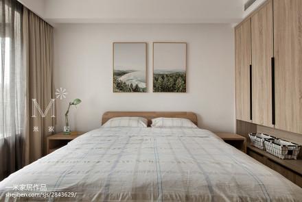 热门日式三居卧室装修欣赏图