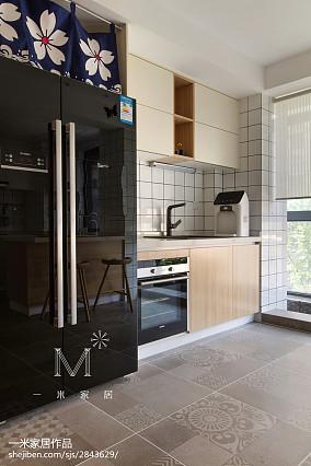 精选面积104平日式三居厨房装修欣赏图片