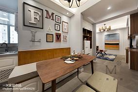 201895平方三居餐厅美式装修欣赏图片大全