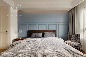温馨93平北欧三居卧室图片欣赏三居北欧极简家装装修案例效果图