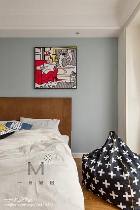 精美三居儿童房北欧装修设计效果图片欣赏三居北欧极简家装装修案例效果图